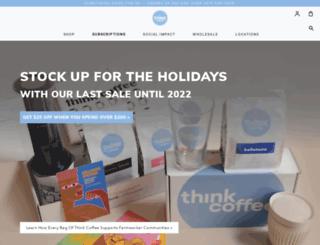 thinkcoffeenyc.com screenshot