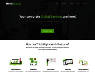thinkdigitalworld.com screenshot