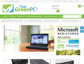 thinkgreenpc.com screenshot