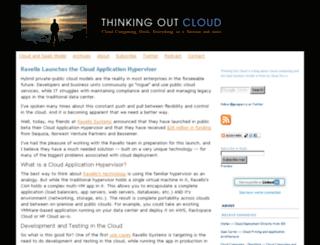 thinkingoutcloud.com screenshot