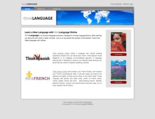 thinklanguage.com screenshot