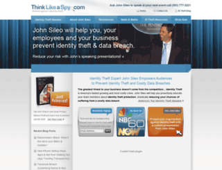 thinklikeaspy.com screenshot