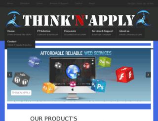 thinknapply.com screenshot