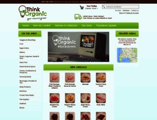 thinkorganic.co.za screenshot
