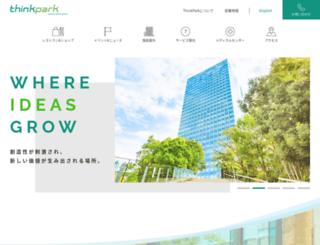 thinkpark.jp screenshot