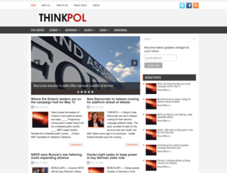 thinkpol.ca screenshot