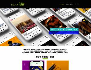 thinkraw.asia screenshot
