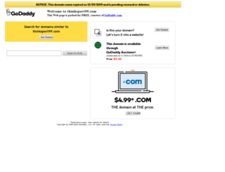 thinksport99.com screenshot