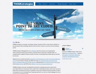 thinkstrategies.com screenshot
