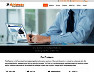 thinktradeinc.com screenshot
