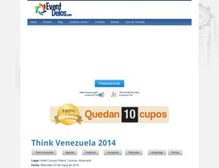 thinkvenezuela.com screenshot