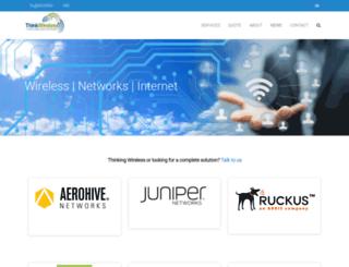 thinkwireless.co.nz screenshot