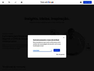 thinkwithgoogle.com.br screenshot