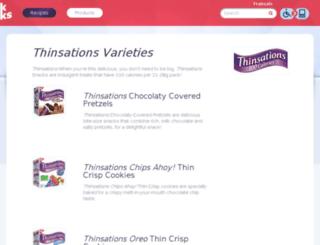 thinsations.ca screenshot