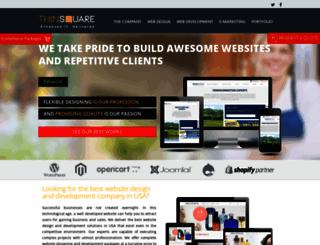 thinsquare.com screenshot