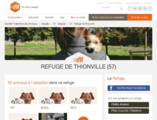thionville.spa.asso.fr screenshot