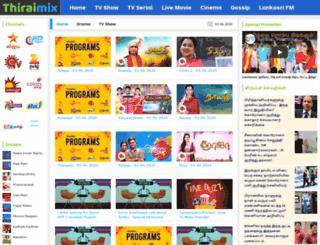 thiraimix.com screenshot