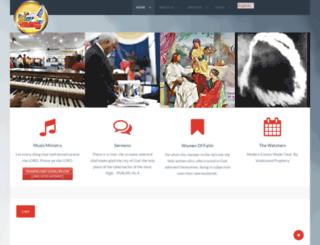 thirdexodus.website screenshot