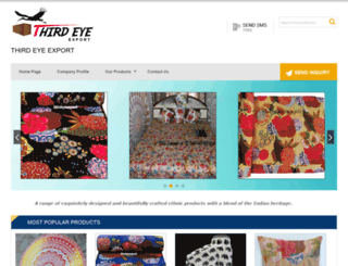 thirdeyeexport.com screenshot