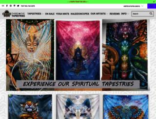 thirdeyetapestries.com screenshot