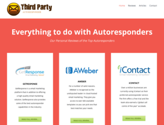 thirdpartyautoresponder.com screenshot