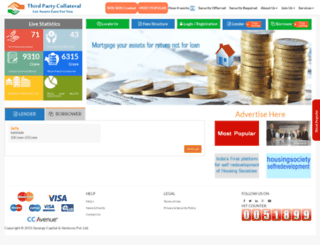 thirdpartycollateral.com screenshot