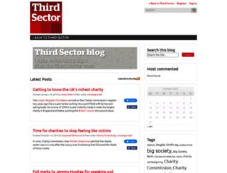 thirdsector.thirdsector.co.uk screenshot