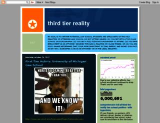 thirdtierreality.blogspot.com screenshot