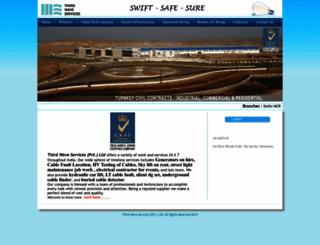 thirdwaveservices.com screenshot