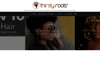 thirstyroots.com screenshot