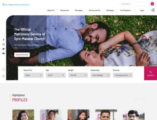 thirukudumbammatrimony.com screenshot