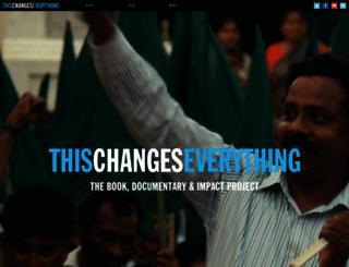 thischangeseverything.org screenshot