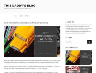 thisdaddysblog.com screenshot