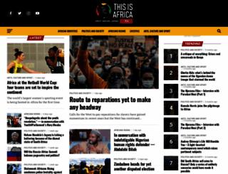 thisisafrica.me screenshot
