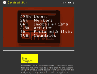 thisiscentralstation.com screenshot