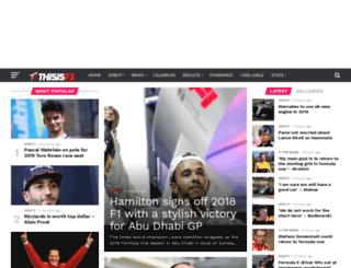 thisisf1.com screenshot