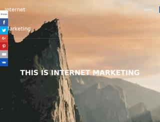 thisisinternetmarketing.com screenshot
