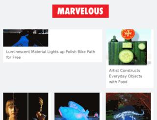 thisismarvelous.com screenshot