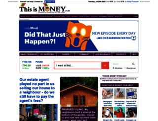 thisismoney.co.uk screenshot