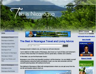 thisisnicaragua.com screenshot