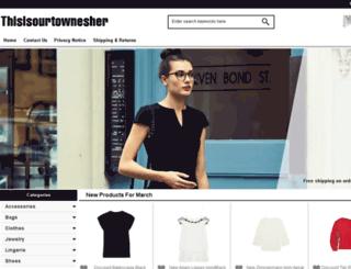 thisisourtownesher.co.uk screenshot