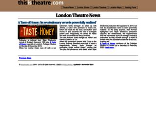 thisistheatre.com screenshot