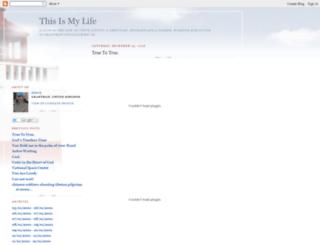 thislife.blogspot.nl screenshot
