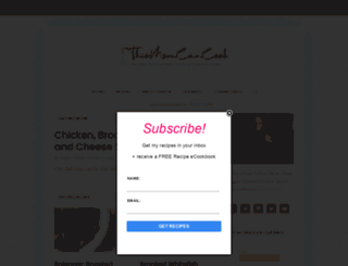 thismomcancook.com screenshot