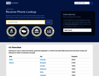 thisnumber.com screenshot