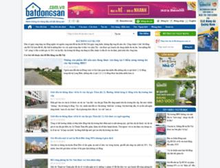 thitruongbatdongsanhanoi.batdongsan.com.vn screenshot