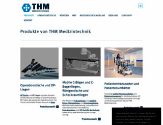 thm-medizintechnik.com screenshot