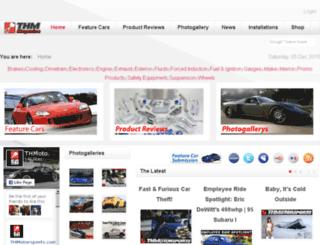 thmotorsports.net screenshot