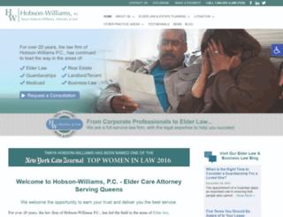 thobsonwilliamslaw.com screenshot