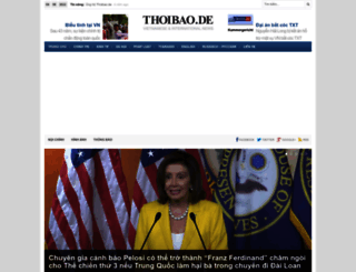thoibao.de screenshot